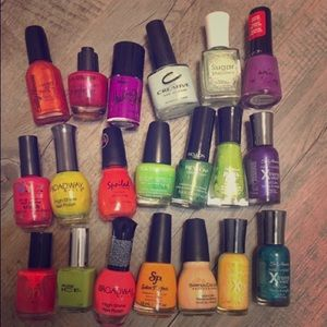 Other - Various colors/ brands nail polish.